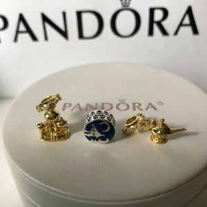 Pandora Disney Aladdin Charm Set of 3